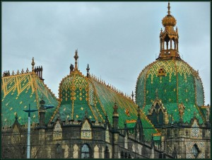 Museum of Applied arts with its Zsolnay majolica tiles