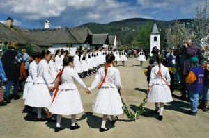 The Skanzen at Easter
