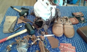 Leather craft work