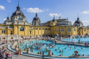 The Széchenyi baths