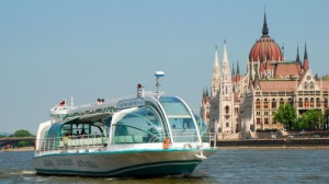 Boat excursion on the Danube.