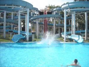 Palatinus water slides