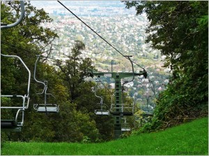 Chairlift down