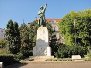 József Bem square, where the revolution began