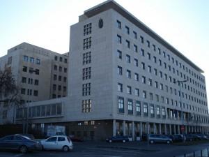 Communist party HQ building