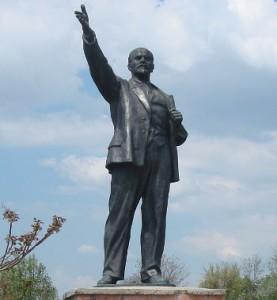 Lenin in the Statue Park