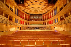 Interior of new concert hall