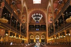 Budapest Synagogue - interior