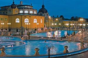 The Széchenyi thermal baths