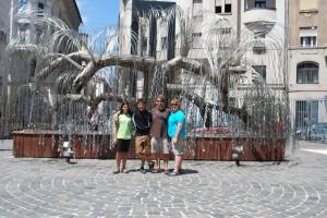 Holocaust memorial - synagogue