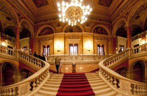 Opera House - grand staircase