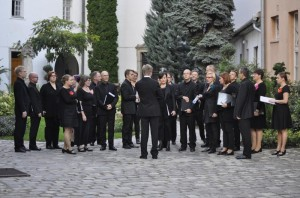 Finnish choir visit to International Kodaly Institute