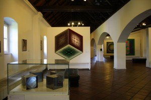 Vasarely Museum - interior